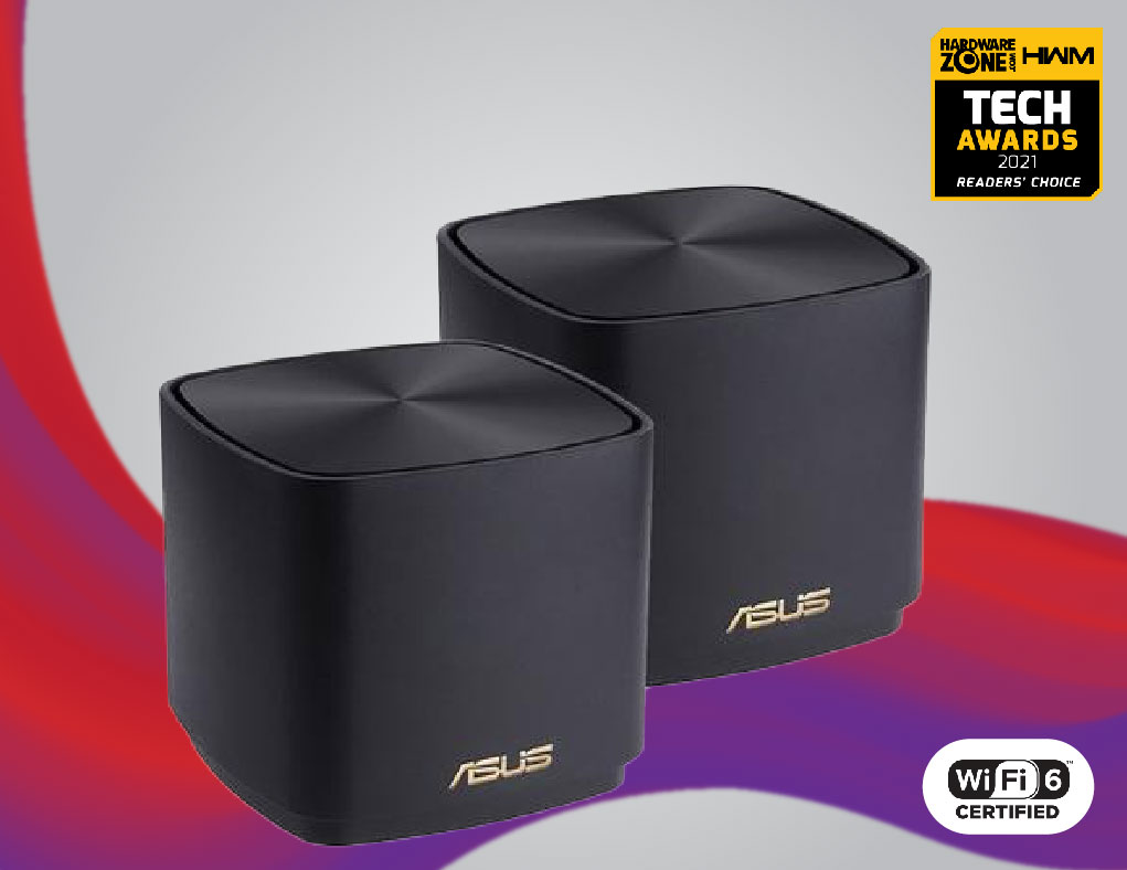 ASUS ZenWiFi XD4 - Home router with secure WiFi 6 coverage