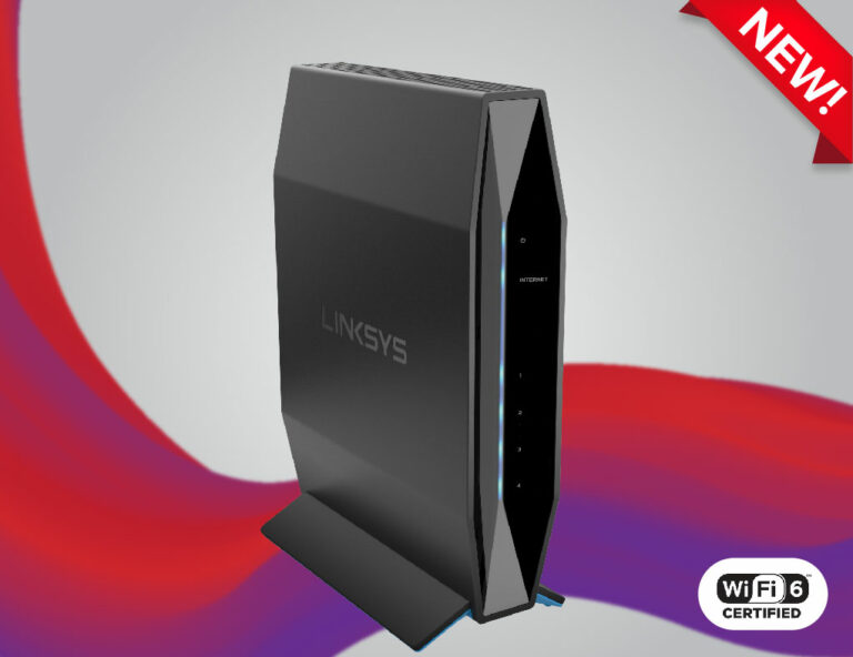 Linksys E7350 - Powerful, compact and reliable WiFi 6 router
