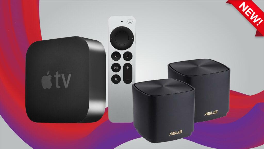ViewQwest Entertainment Bundle - 1Gbps Home Broadband Apple TV Bundle