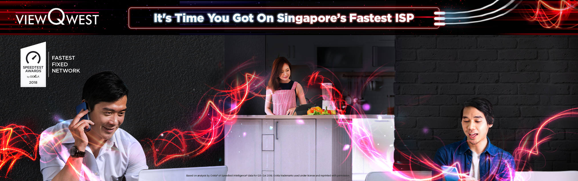 ViewQwest, Singapore's Fastest ISP