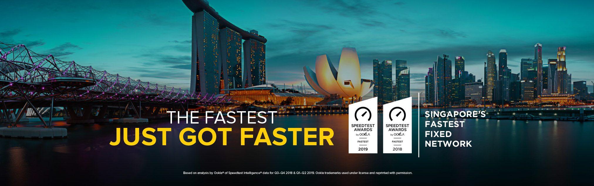 Singapore's Fastest ISP